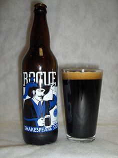 Rogue--Shakespeare Stout. I wasn't impressed, but this was a decent stout. Definitely drinkable.