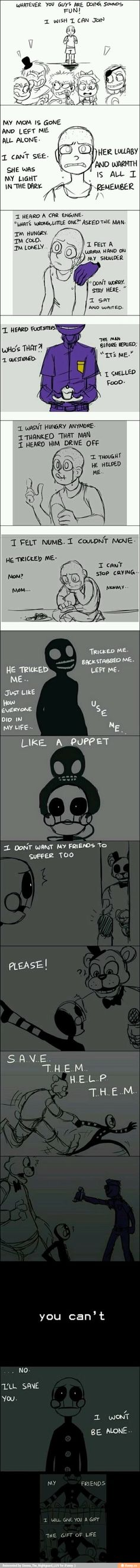The Puppet, Marionette, Purple Man, Children, SAVE THEM, Freddy, FNAF