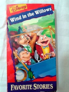 Disney's The Wind in the Willows -VHS 1996 - Disney Favorite Stories #windinthewillows #disney #vhs #classic