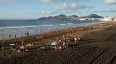 Perfect afternoon! #Oceanside #Quiksilver #SurfSchool #LasCanteras #Beach #LasPalmas #GranCanaria #CanaryIslands #Surf