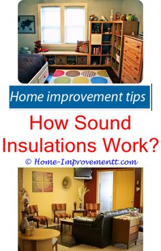 Superb How Sound Insulations Work  Home Improvement Tips #52662