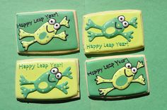 Happy Leap Year – Keroppi Cookie   Suz Daily
