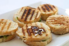 Avocado & Goat Cheese Mini Grilled Cheese » That's So Michelle