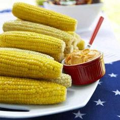 Corn on the Cob with Spicy Butter