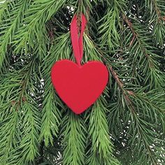 Traditional Red Heart decoration, not just for christmas. Beautiful Swedish made wooden hanging hearts. Give a little LOVE.
