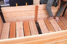 How to Make a DIY Raised Planter Box : 14 Steps (with Pictures) - Instructables Planter Box Plans, Raised Planter Boxes, Garden Planter Boxes, Planters, Cedar Fence Pickets, Trim Router, Home Vegetable Garden, Herb Garden, Plant Box