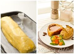 Filet mignon en croûte au foie gras et morilles - Recette pour Noël