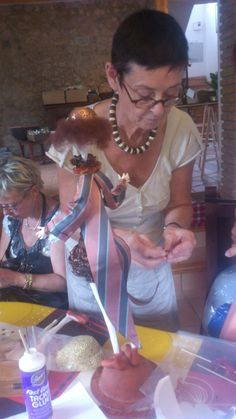 Dollmaking holiday class of Spain with Ankie Daanen