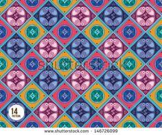 vector javanese batik pattern