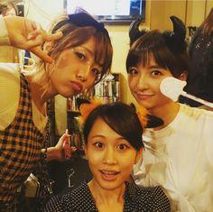 Takamina, Mariko and Acchan #AKB48