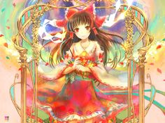 A good Reimu for springtime.