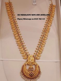 Pin By Jyostna On Imitation Jwellari In 2019 Tejidos – Jewelry Real Gold Jewelry, Gold Jewelry Simple, Gold Wedding Jewelry, Gold Jewellery Design, Bridal Jewelry, Mango Mala Jewellery, Temple Jewellery, Gold Necklace, Mango Necklace