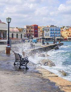 Porto di Chania, Creta, Grecia