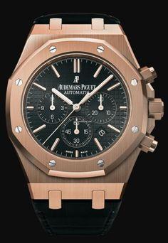Audemars Piguet [NEW] Royal Oak Chronograph Black 26320OR.OO.D002CR.01 (List Price: HK$301,000) ~ JULY SPECIAL: HK$234,000.