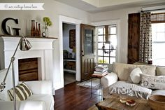 Benjamin Moore Classic Gray paint. I can picture this in my living room. It's a warm gray that doesn't feel icy.