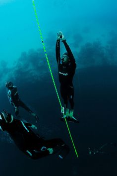 Glow in the Dark Diving Rope. Available at Glorope.com