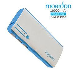 MOERDON Power Bank for Mobile 10000 mAh with 3 USB Ports-... http://www.amazon.in/dp/B01LWOEW31/ref=cm_sw_r_pi_dp_x_KpRqyb1J1M1DV