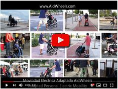 Motor de empuje para silla de ruedas AidWheels HoverPusher