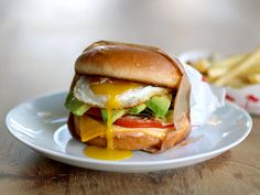 In-n-Out Breakfast Burger with Avocado and Egg | Going to make this!
