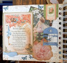 Secret Garden book project.