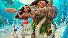 Moana 2016 Animated Movie Wallpaper