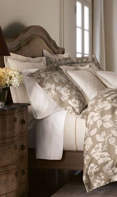 Marcus Spring Rose Bed Linens
