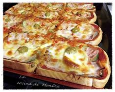 Cómo hacer pizza en pan de molde