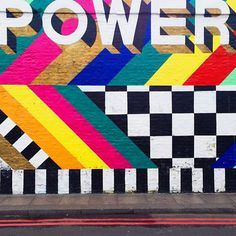 Our Latest Instagram Obsession Has A Serious Eye For Color #refinery29 http://www.refinery29.com/bright-bazaar-colorful-instagram#slide10 Shoreditch, London.