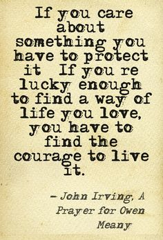 john irving quote i am doomed to remember a boy a wrecked a prayer for owen meany first it in high school still my