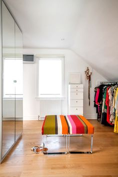 Slanted Walls Storage & Closets Design Ideas, Pictures, Remodel and Decor