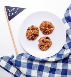 Chocolate chip havermout koekjes (recept)