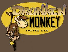 """A Coffee Junkie's Paradise"" well...with a name like the drunken monkey I must check it out!"