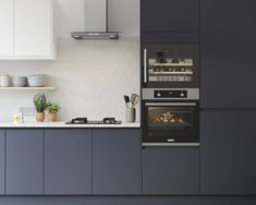 Weekends in the kitchen 😍 Our NEW Luna Midnight kitchen is all the interior inspiration you need ☑️ Luna Kitchen, New Kitchen, Kitchen Units, Rustic Kitchen Design, Kitchen Cabinet Design, Kitchen Designs, Kitchen Ideas, Farmhouse Kitchen Cabinets, Modern Farmhouse Kitchens
