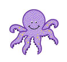CHOBOTNICA Hey, diesen tollen Etsy-Artikel fand ich bei https://www.etsy.com/de/listing/154175749/octopus-sea-animal-applique-machine