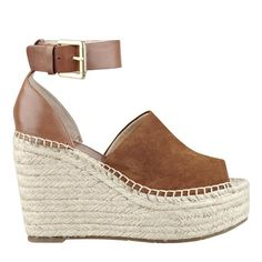 Shop Marc Fisher online for designer espadrilles. Discover platform espadrille sandals, flats, sneakers & more from the casual luxe collection. Platform Espadrille Sandals, Espadrille Wedge, Marc Fisher Boots, Designer Espadrilles, Brown Wedge Sandals, Cheap Shoes, Leather Heels, Womens Flats, Wedges