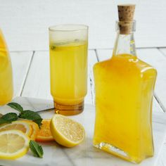 Try our refreshing Orange and Lemon Cordial this spring.