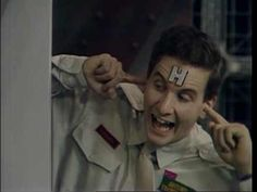 Arnold Rimmer in Red Dwarf played by Chris Barrie Welsh, Space Hero, Red Dwarf, Best Sci Fi, Television Program, How To Make Light, Comedians, Science Fiction, Nerdy