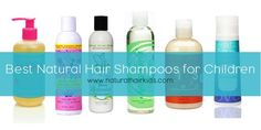 6 of the Best Natural Hair Shampoos for Children
