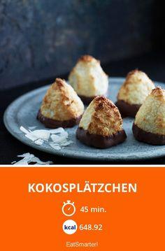 Kokosplätzchen - smarter - Zeit: 45 Min. | eatsmarter.de