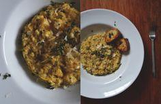 VEGETARIAN ACORN SQUASH RISOTTO  http://chayvert.com/2014/10/27/vegetarian-acorn-squash-risotto/