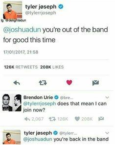 Puhahaha Twenty One Pilots & Brendon Urie