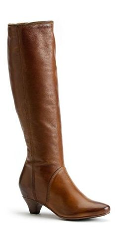 Frye Women's Steffi Zip Tall Cognac Soft Vintage Leather Boot 5.5 B -  Medium FRYE http