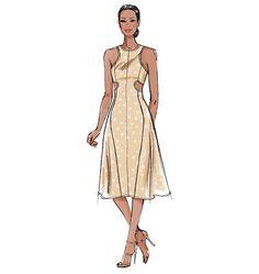 Vogue Patterns V8900 | Een perfecte kopie van de Carven Spring/Summer 2013 cut out jurk
