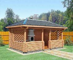 Беседка Backyard Furniture, Backyard Projects, Backyard Patio, Backyard Landscaping, House Balcony Design, Balcony Railing Design, Gazebo Pergola, Garden Gazebo, Wooden Summer House