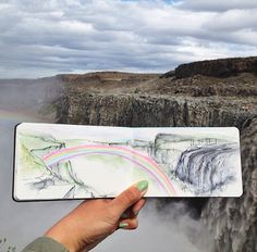 Hannah Jesus Koh does not bring ordinary tap water with her when she creates watercolor paintings of her stunning surroundings. Using liquid straight from the environment that she wants to portray, the high school art teacher paints remarkable landscapes within the confines of her journal. Koh started using this special technique when she was at …
