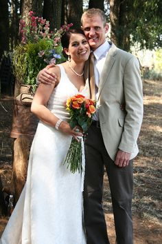 A few years ago I was a guest at my cousin Erika's wedding and I took a ton of pictures of their beautiful day. Erika and Eise's wedding was. Wedding Summer, Our Wedding, Erika, Wedding Couples, Beautiful Day, Woods, Picnic, Wedding Photography, Wedding Dresses