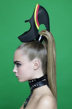 Cara Delevingne for Melissa Shoes by Karl Lagerfeld