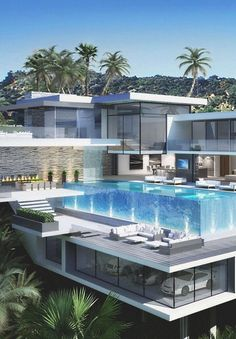 Imagen de house, pool, and luxury