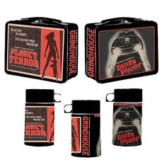 Grindhouse Planet Terror and Death Proof lunch box and thermos