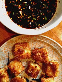 Easy panko fried tofu recipe | Surviving Green #yum #recipes